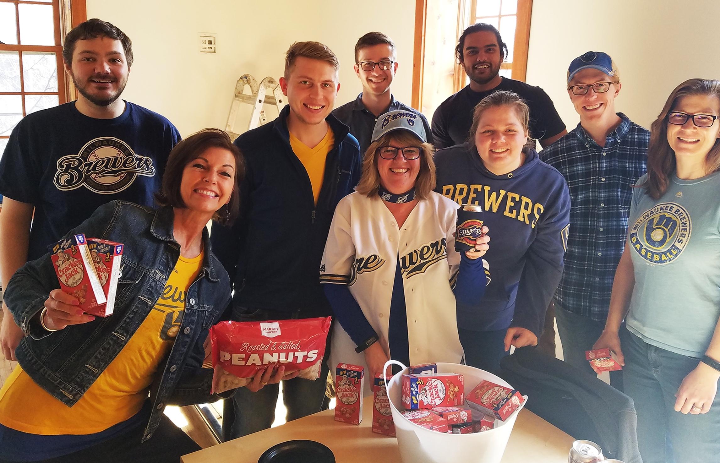 GROTH Design Group celebrates MLB Opening Day 2018.