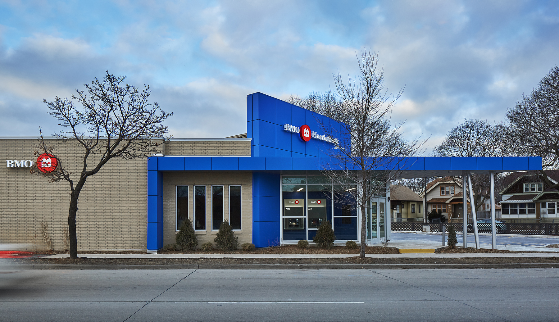 BMO Harris Bank Sherman Park Branch.   A 2017 Daily Reporter Top Project.
