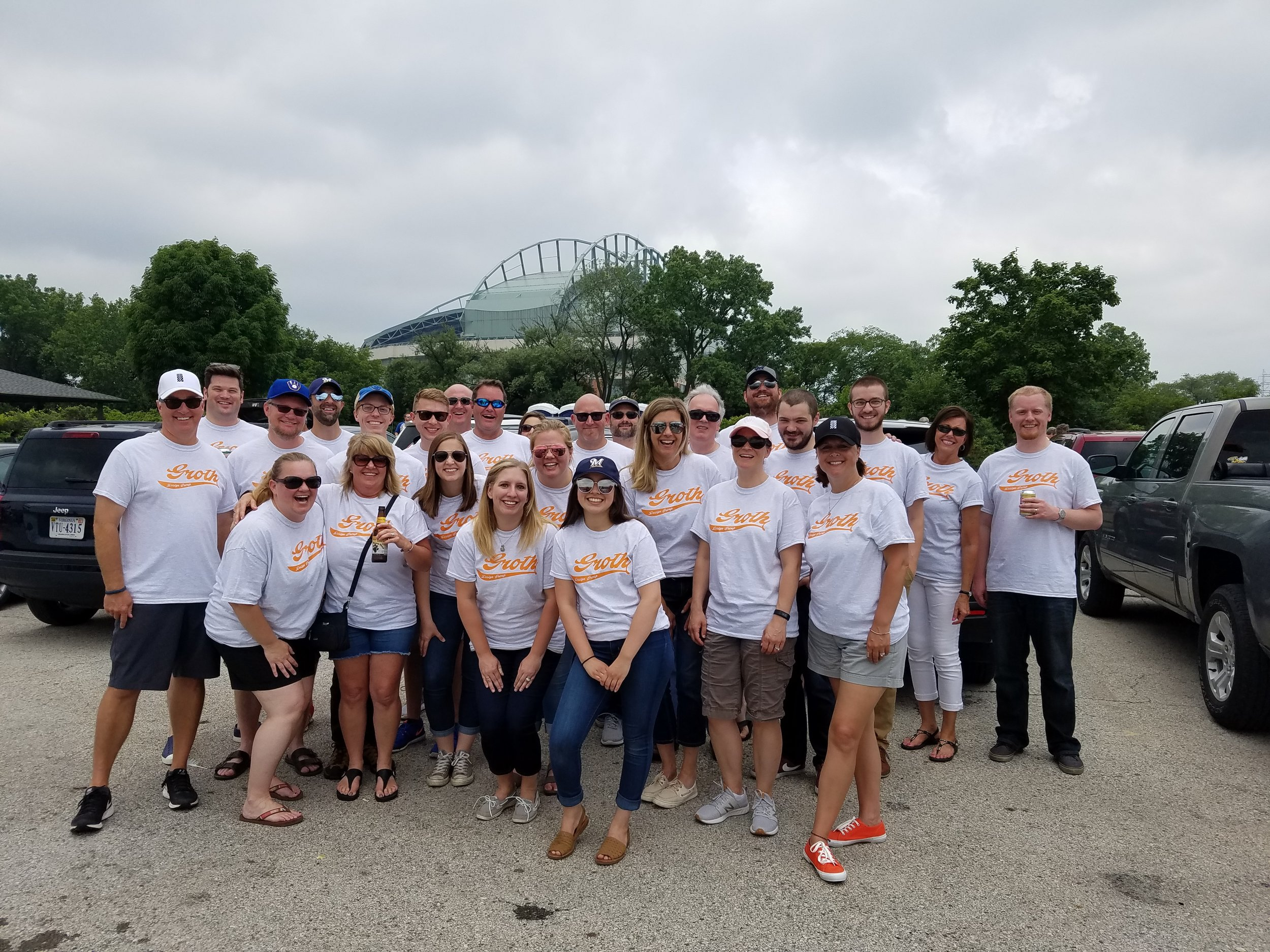 GROTH Design Group's 2018 summer picnic.
