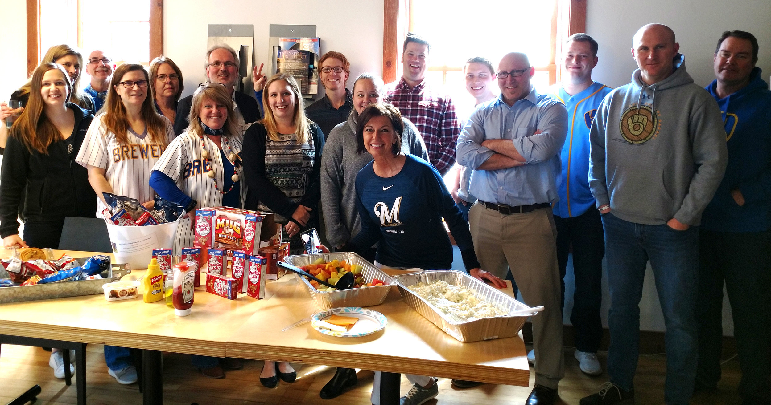 GDG's Cedarburg office celebrates MLB Opening Day 2019.