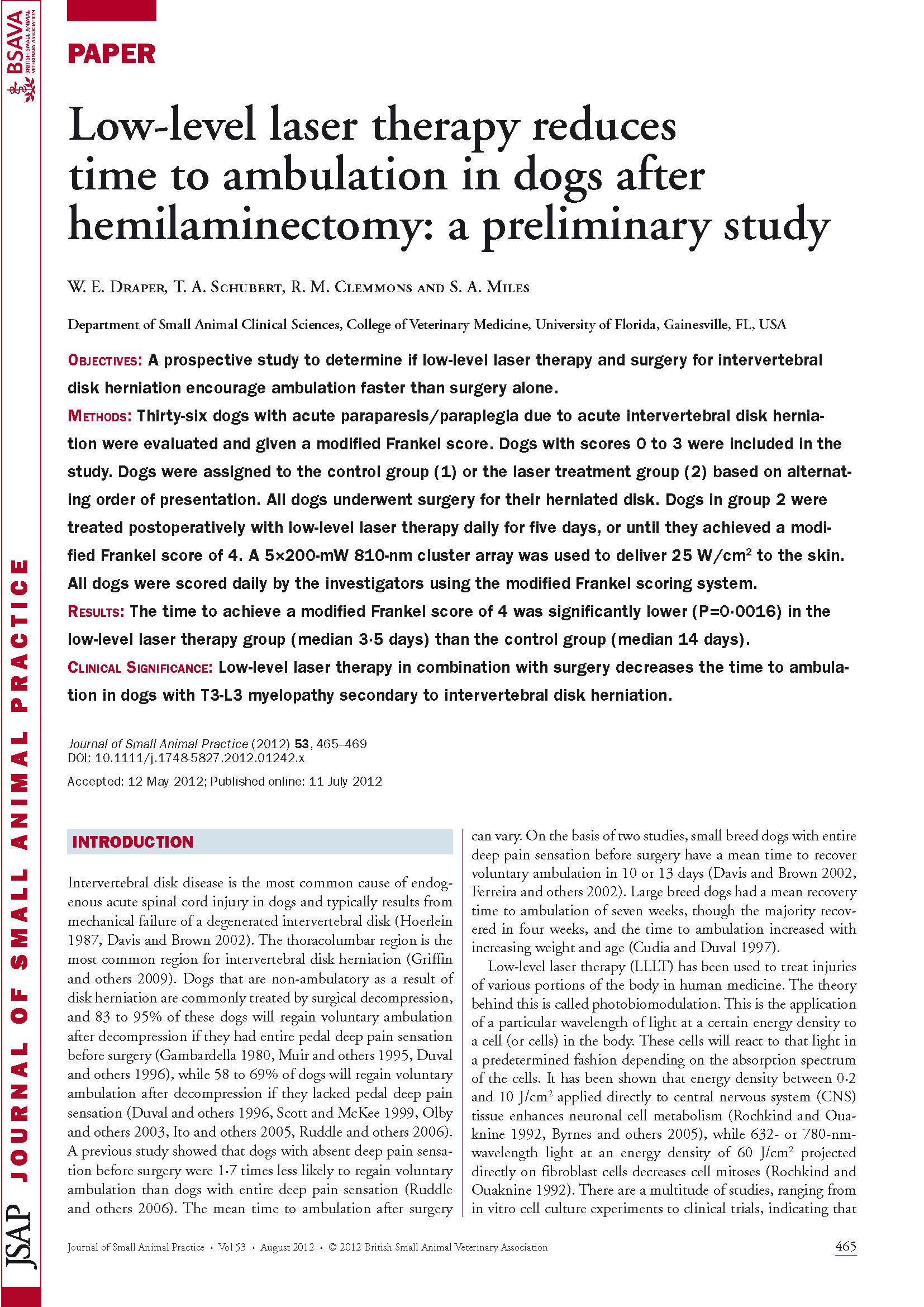 LLLT in Hemilaminectomy.jpg