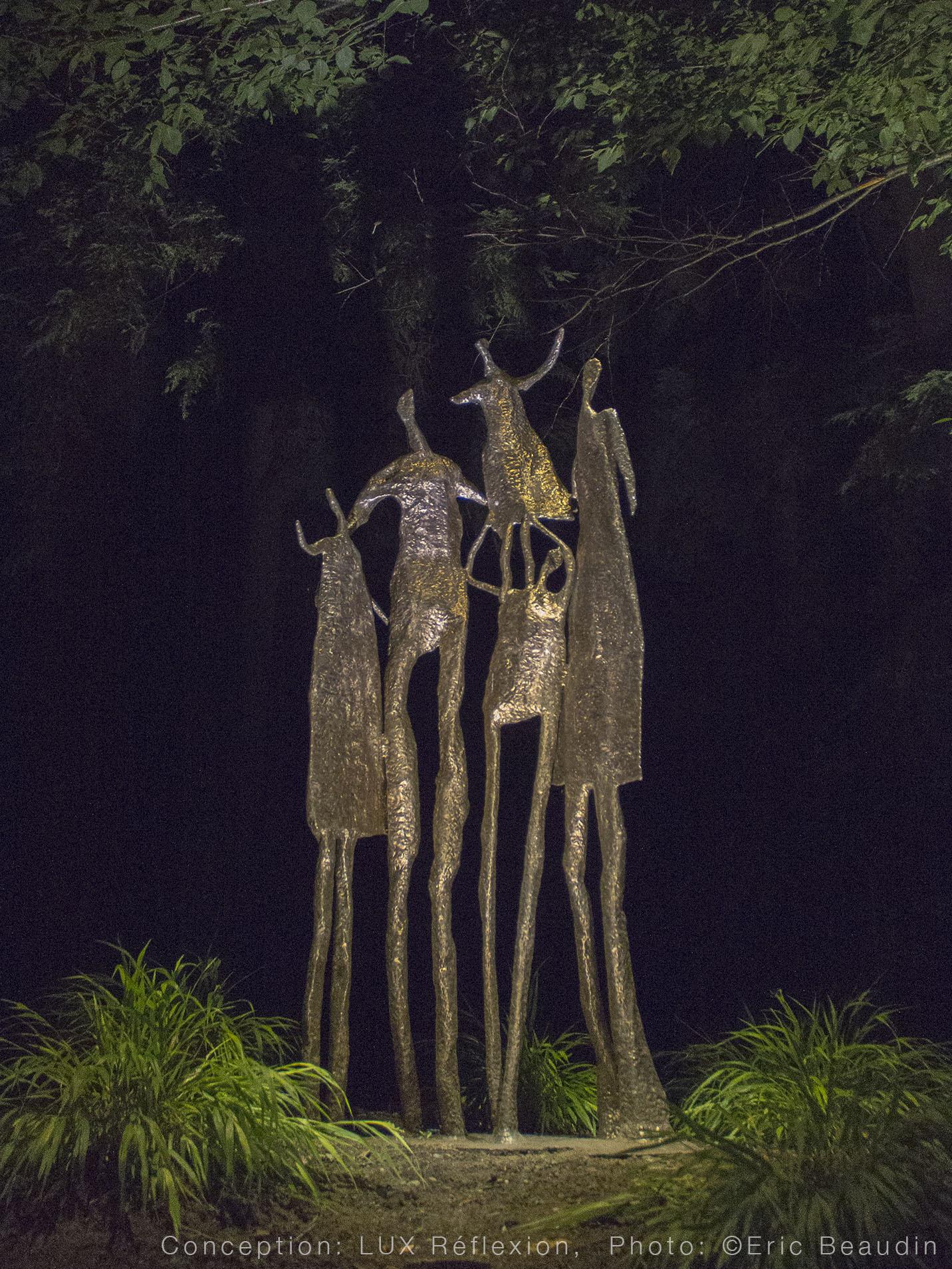 Éclairage d'oeuvres d'art,  Mathieu Binette