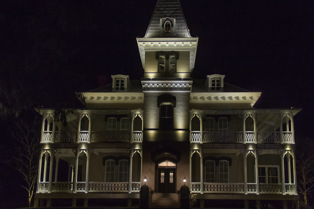 Éclairage architectural, edifice patrimonial