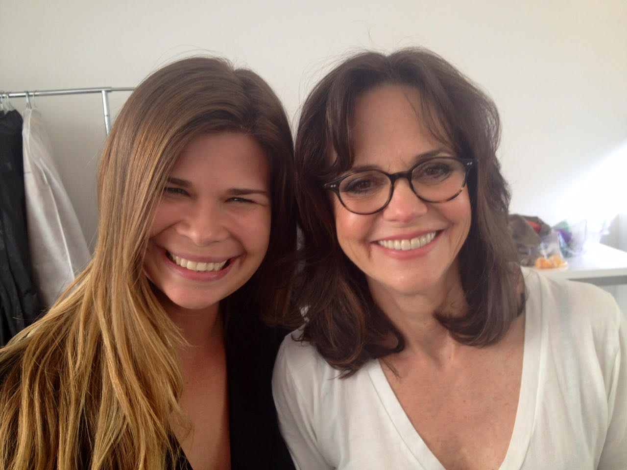 Here I am with Sally Field! She is an absolute sweetheart!