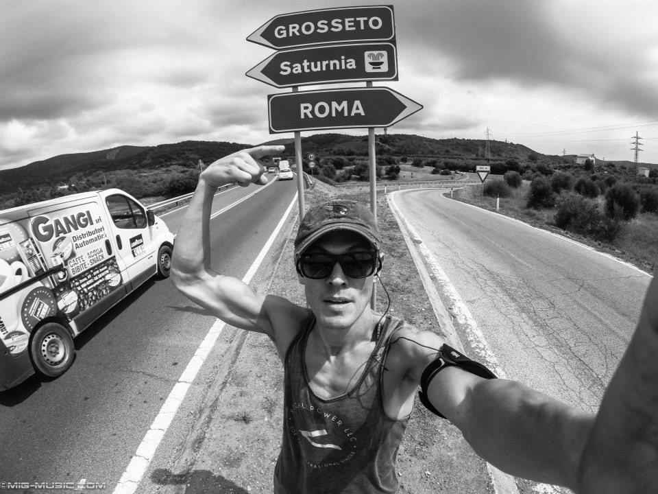 Actor + musician MiG Ayesa showing his Vocal Power pride all the way in Rome!
