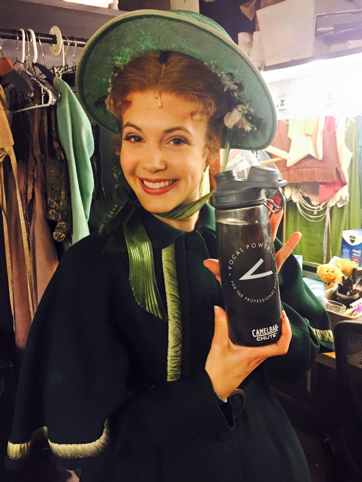 The amazing Heidi Giberson, as Cosette in Les Miserables on Broadway.