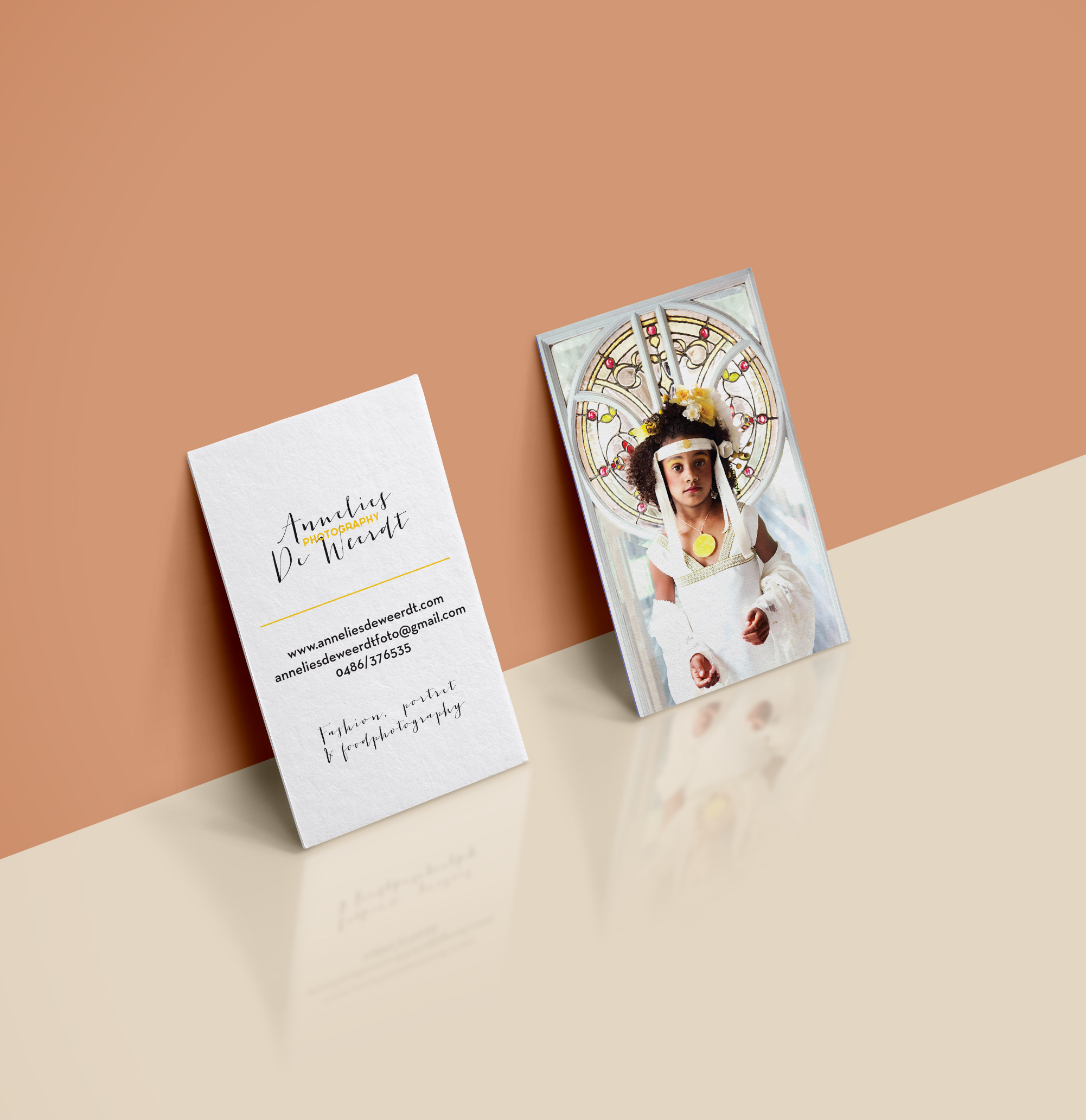 - Annelies De Weerdt photographyLogo and business card designed for photographer Annelies De Weerdt.Pictures by the talented Annelies De Weerdt.
