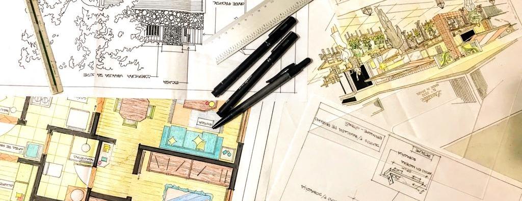 Curso De Desenhode Arquitetura - Professora: Paulo Monteiro