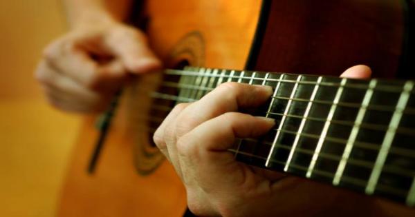 Aula de violão e canto - Professor: Marcos Guimarães
