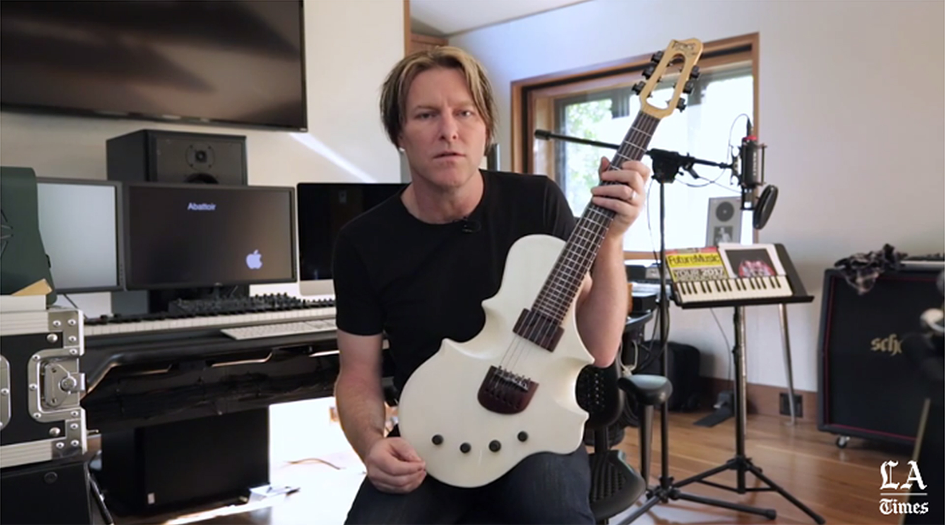 Packinghouse Creative Member Jonathan Wilson's Guitarviol Featured in Tyler Bates Los Angeles Times Article   LA TIMES ARTICLE