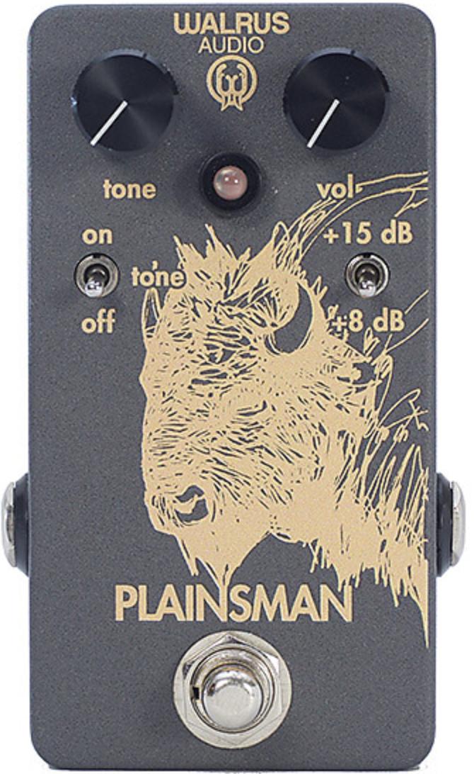 Walrus Audio Plainsman Dual Stage Clean Boost