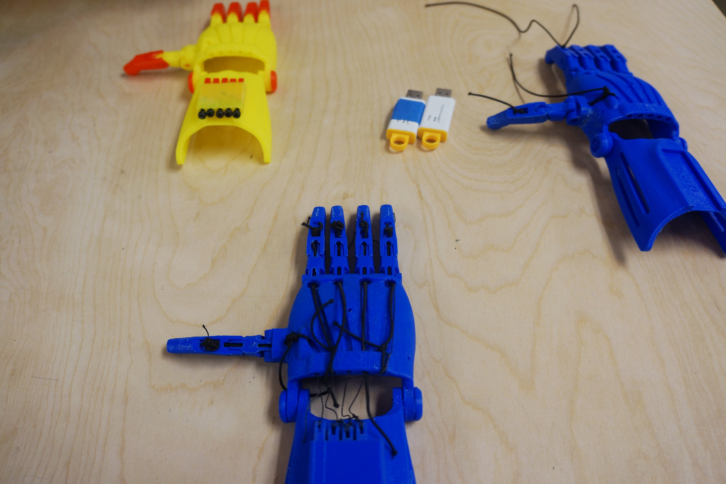 Prosthetic hands 3-d printed