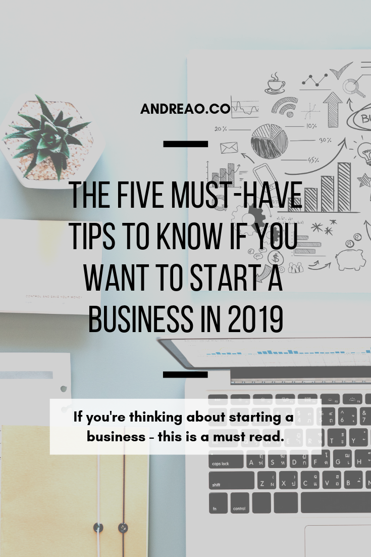 start a business in 2019