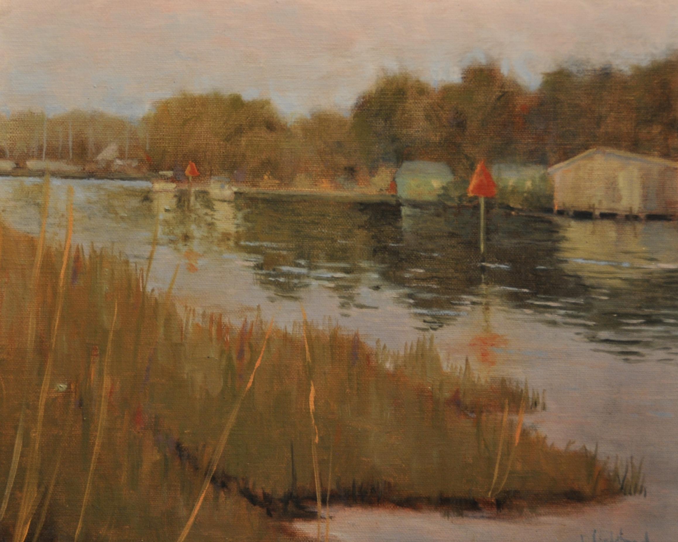 Dusk's Invitation, Oil on Linen, 8 x 10, sold