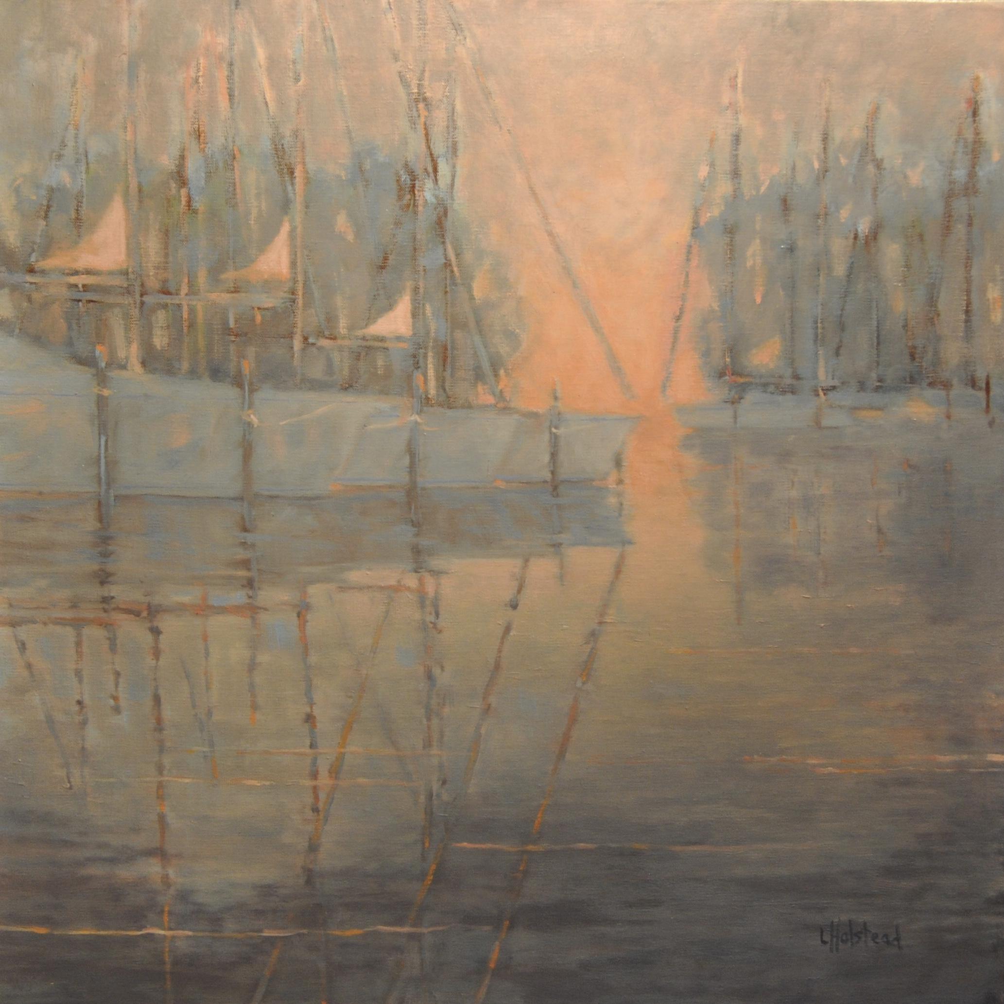 Last Light, Oil on Linen, 20 x 20, available