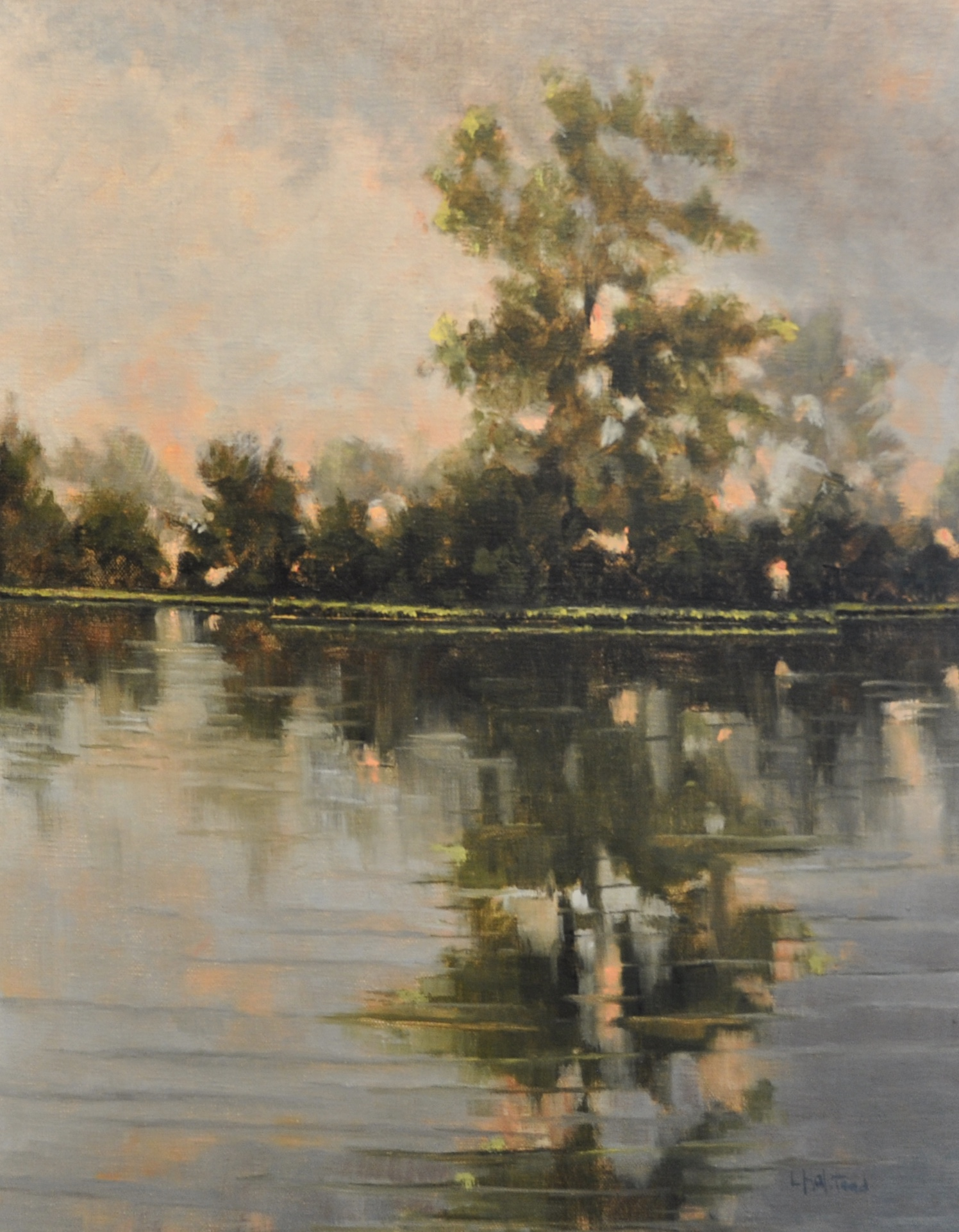The Rain Passes, Oil on Linen, 11 x 14, sold