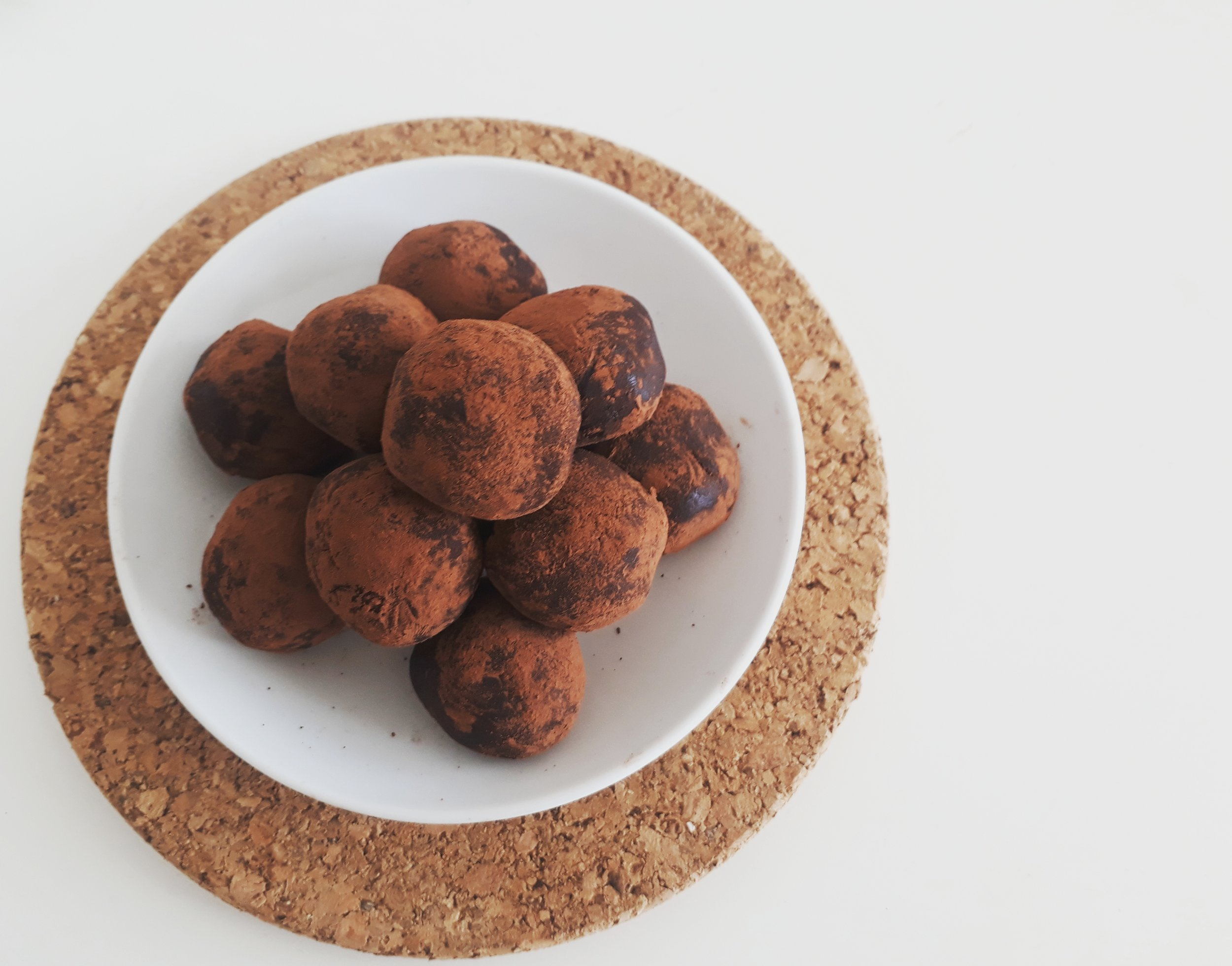 Yogi Chocolate Truffles Yoga Teacher Training Menu
