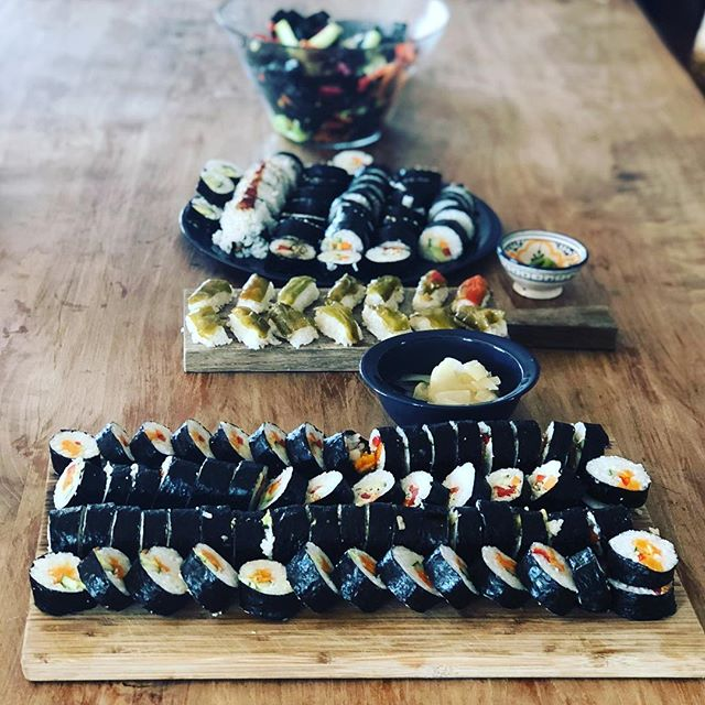 Sushi Yoga Teacher Training Menu