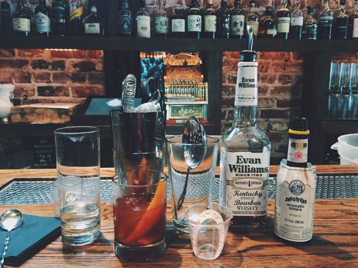 Bourbon and Branch. Photo by  @girlandthebay .