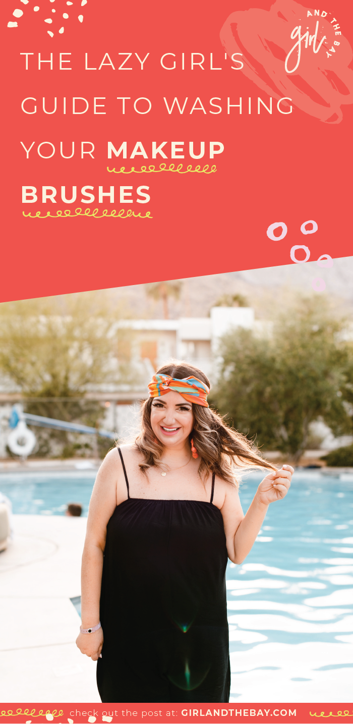 the girl's guide to washing your makeup brushes