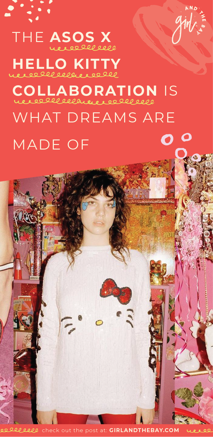 the asos x hello kitty collaboration is what dreams are made of