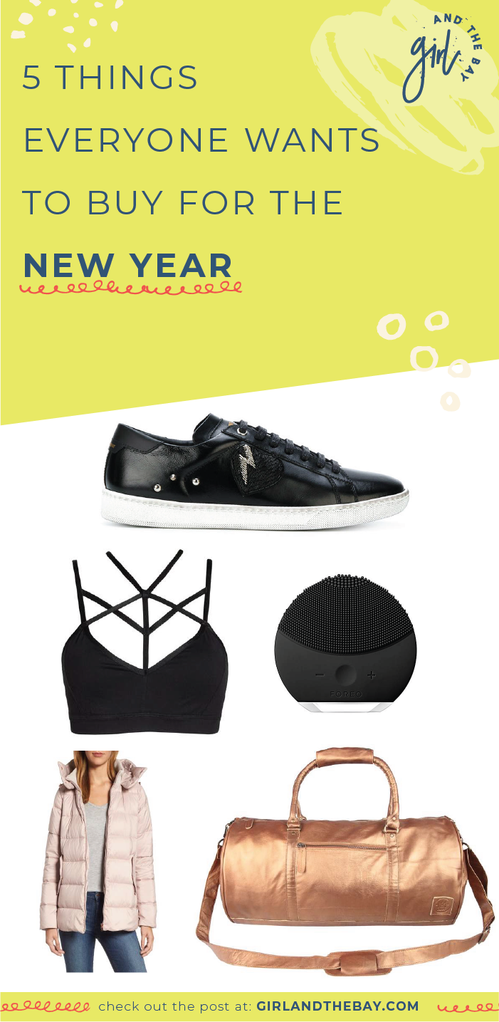 5 Things Everyone Wants to Buy for the New Year