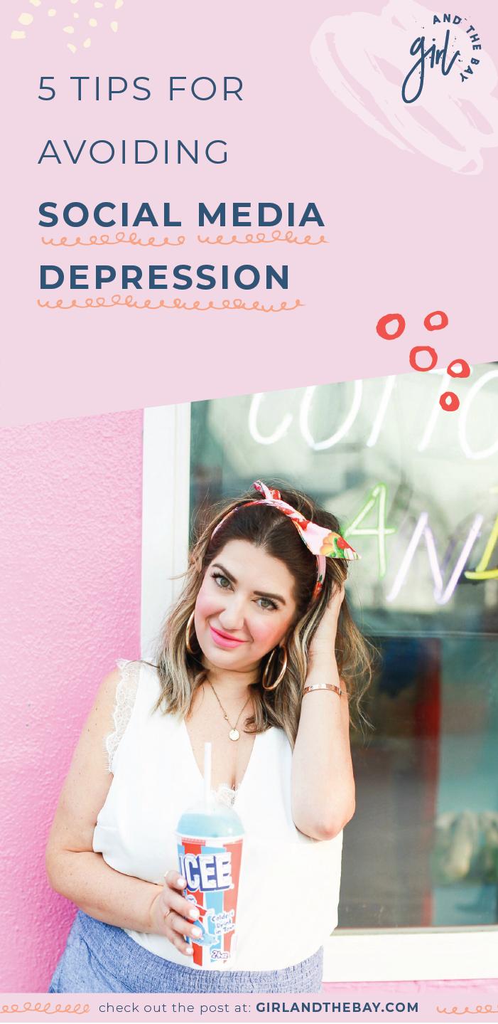 5 tips for avoiding social media depression