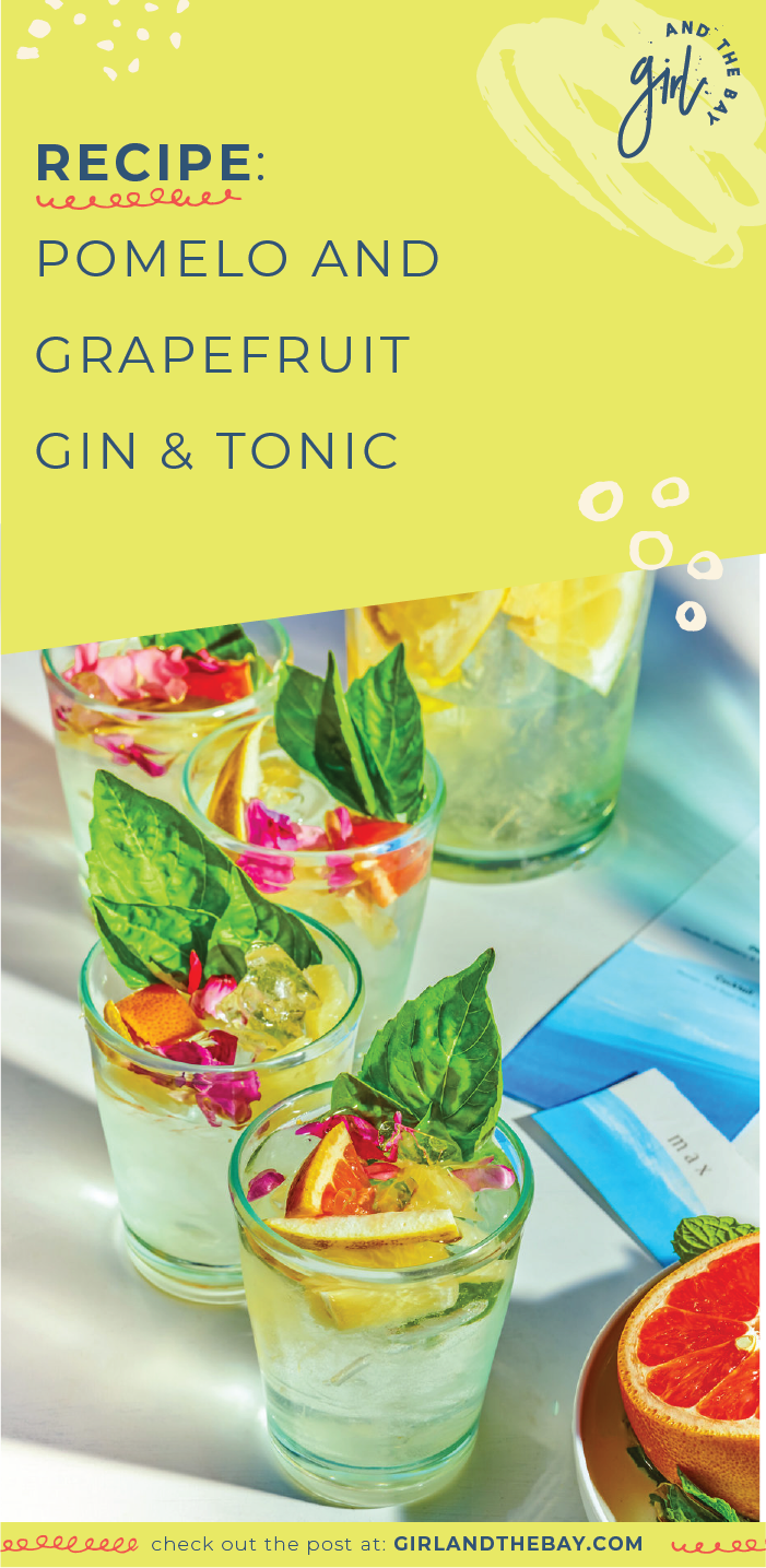 Recipe: Pomelo and Grapefruit Gin & Tonic