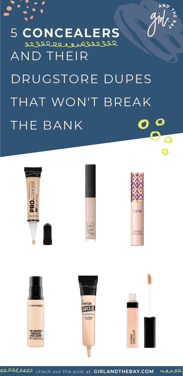 5 Concealers and Their Drugstore Dupes That Won't Break The Bank