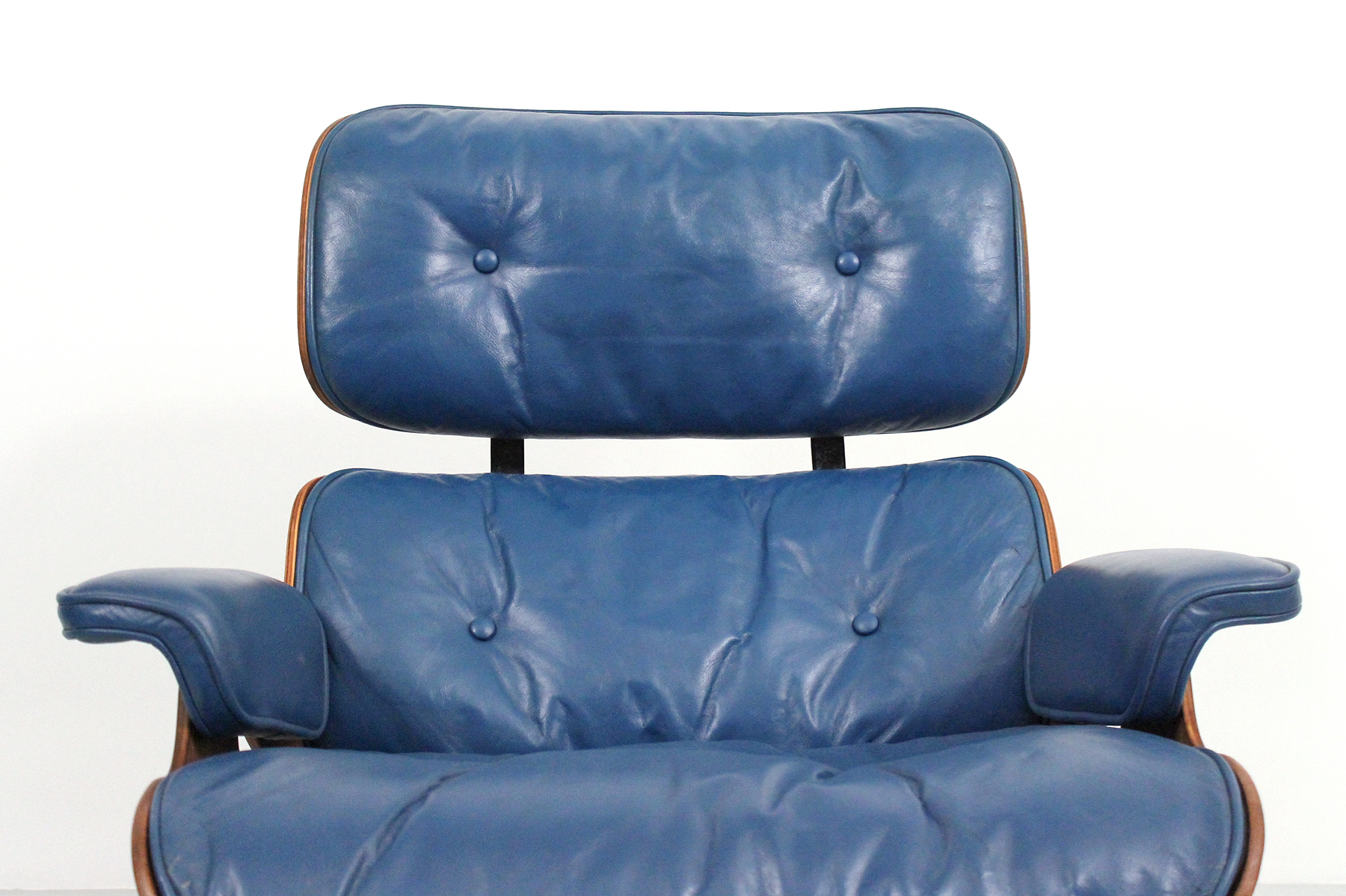 Rare Blue Eames Lounge restored