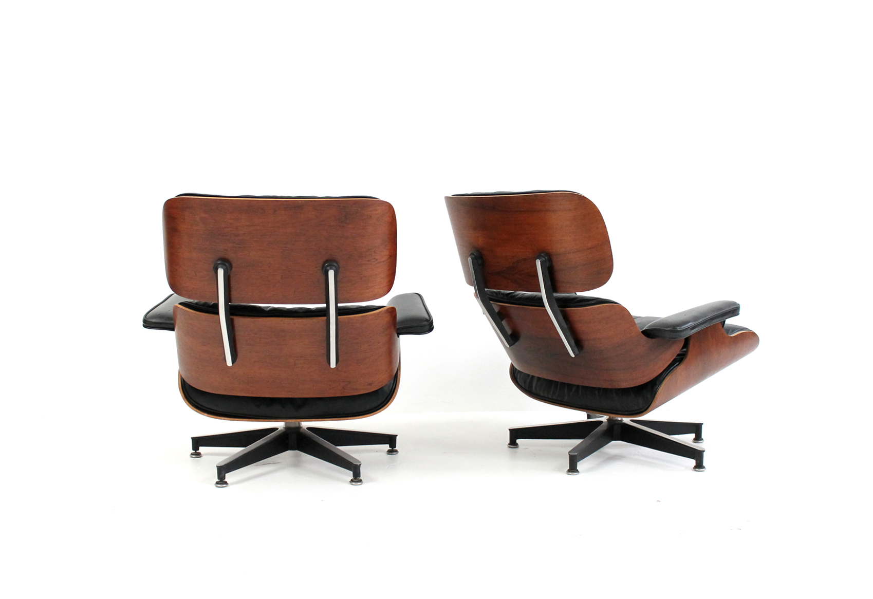 Restored Eames Lounge Rosewood