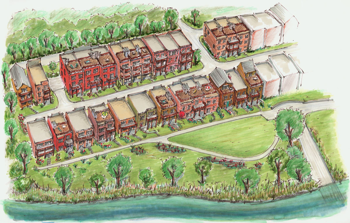 The Sanctuary at River Green Artist Rendering