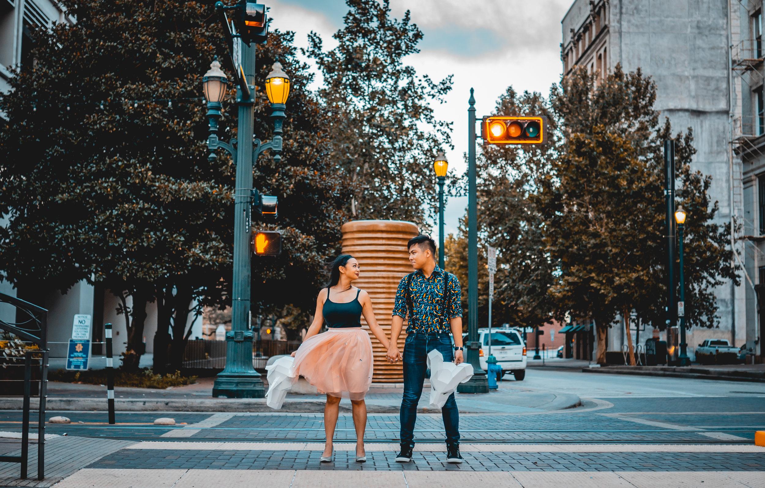 Andrew + Amanda - At Houston Downtown