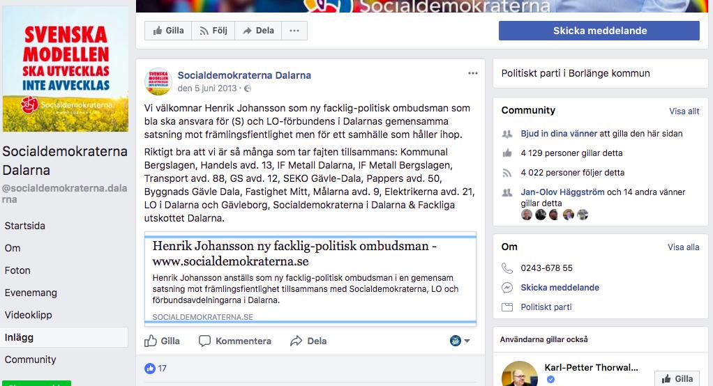 Dalarna anställer Henrik IRM antirasistisk satsning.png