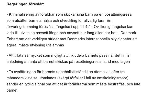 Från  danska regeringens hemsida .