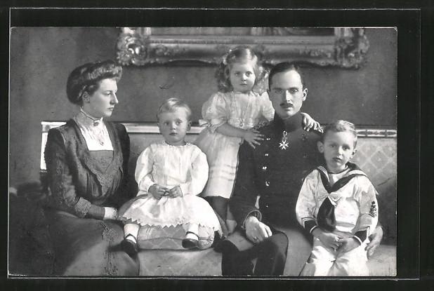 Hertigen med familj