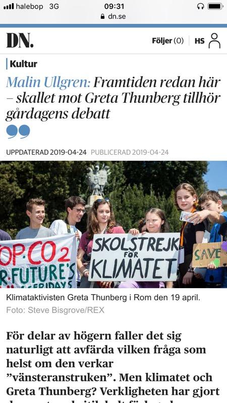 Från  Dagens Nyheter