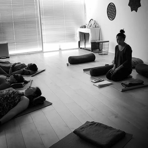 Restorative Yoga at Downward Duck with Wendy