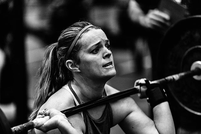 Thank goodness that's over. On to the next! #crossfit #intheopen #crossfitopen #cfwinterclassic #crossfitgirls #winteriscoming #crossfitcompetition #crossfitfamily #crossfitlove #womenofcrossfit #thrusters 📸 @doooker