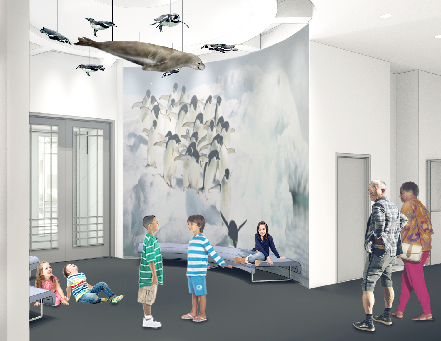New Bruce Education Wing-Orientation Space