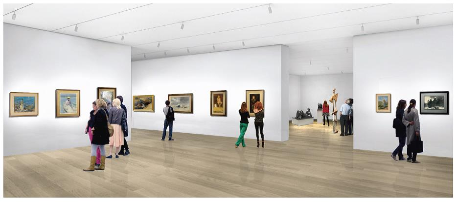 permanent art gallery