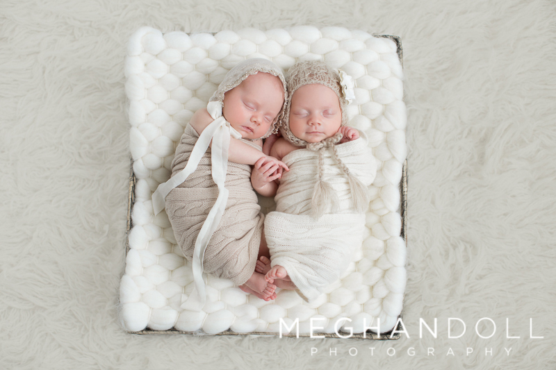 newborn-twin-girls-hold-hands-in-basket