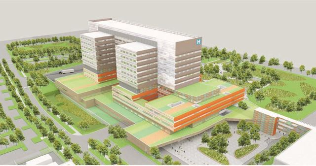 vaughan hospital - Contributed towards capital campaign to build new hospital in Vaughan.