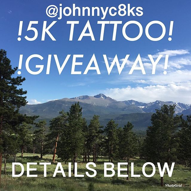 As promised, how to win? 1. Repost this 2. hashtag #c8ks5kaway 3. Tag me and you in it. That's it! Winner is picked at random in a week on July 11th. What you win is a custom design by me worth about 500$ you cannot use it towards another appointment with me. I will have a specific design for this or you may chose another from a few designs I have. My art work only not yours let's make that clear! Thanks for all the love and support to everyone!!! Can't wait to tattoo y'all! #johnnykelly #c8ks5kaway #philadelphia #omkaratattoo #tattoogiveaway