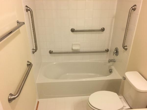 The safest bathroom ever.