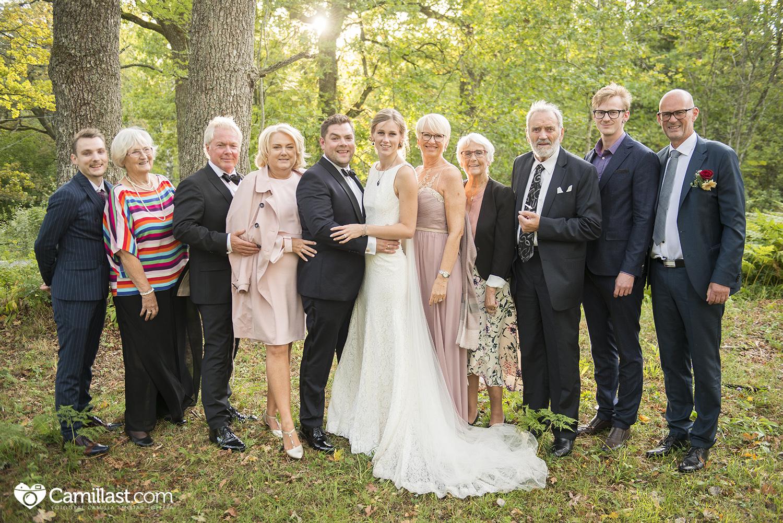 familiebilde bryllup