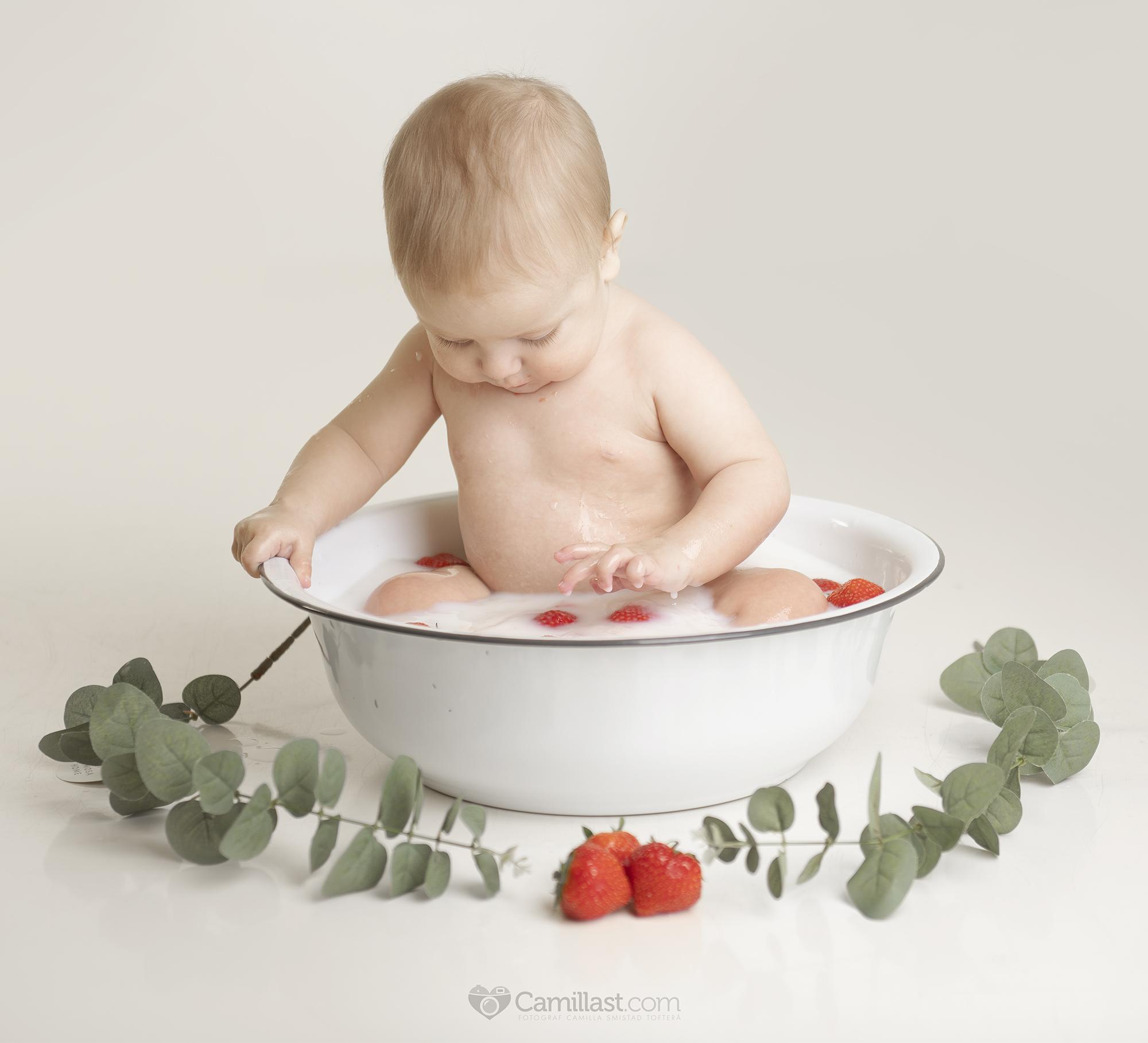 melkebad barnefotografering spydeberg østfold