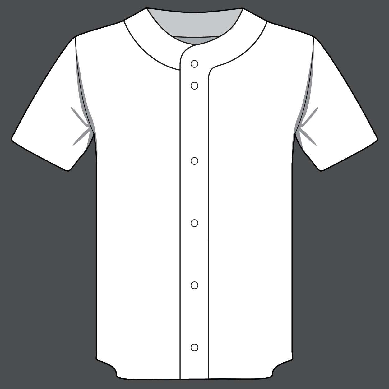 Full Button Softball Jersey - Retail Price:$69.99Team Price 12-23:$49.99Team Price 24+:$44.99Team Price 50+:Contact your Emblem Rep for a custom quoteFabric:Pinhole MeshSizes:YS, YM, YL, XS, S, M, L, XL, XXL, XXXLOptions:Custom name additional $4.99 (Custom number included)
