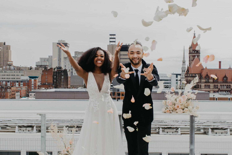 Weddings - High Style in an urban setting.