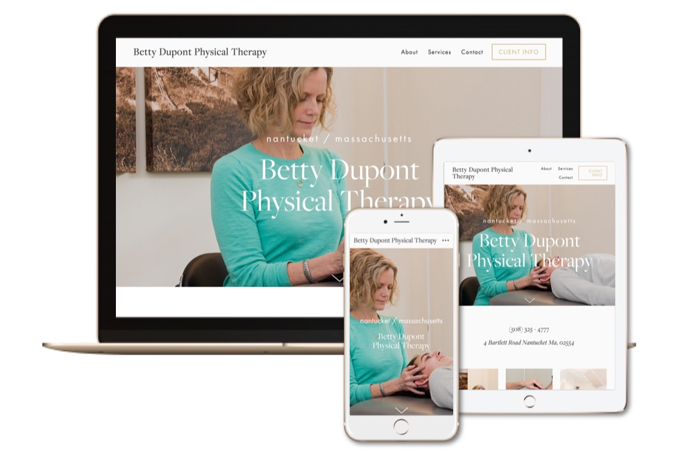 Betty_Dupont_Physical_Therapy_Website+designed+by+The+108